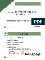 SASE2011-Sensores y Actuadores MEMS de Freescale