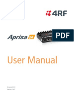 Aprisa SR User Manual 1.6.2
