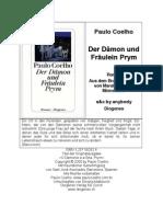 Der Damon Und Fraulein Prym Paulo Coelho