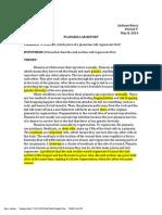 planaria lab report-1pdf