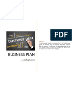 Business Plan (Details)