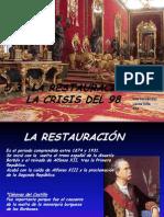 5 3 - la restauracin y la crisis del 98