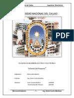 Informe Del Proyecto de Microcontroladores