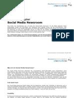 Positionspapier Social Media Newsroom