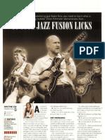 10 Cool Jazz Fusion Licks