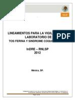 Lineamientos Tosferina 2012
