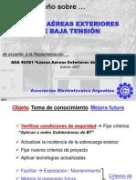Curso AEA Diseño Redes Aéreas de BT y Alumbrado Público 2709