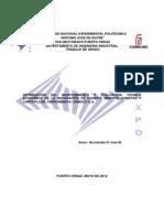 Optimizacion Del Mantenimiento y Evaluacion Tecnico Economica Reparacion Equipos Mineros