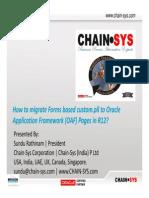 Sundu Rathinam - Migrate Forms Based Custom.pll to (OAF) in R12