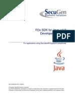 Fdx Sdk Manual Java Sg1-0029a-001