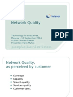 Network Quality