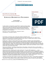 Psicologia USP - Clinic(s)_ Diagnosis and Treatment