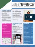 MESHGuides Newsletter Vol 1 No.1 (2014)