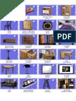 Muebles en Ingles