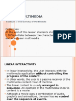 Inter Activity of Multimedia