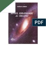Adrian-Lemeni-Sensul Eshatologic Al Creatiei