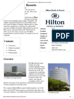 Hilton Hotels & Resorts - Wikipedia, The Free Encyclopedia
