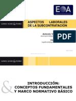 Seminario Aspectos Laborales Del Outsourcing