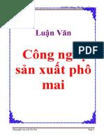 Idoc.vn Luan Van Cong Nghe San Xuat Pho Mai