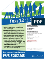 Detroit Peer Educator Application