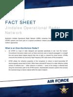 Jindalee Operational Radar Network (JORN) Fact Sheet.