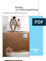 LUNOS Katalog zur Wohnungslüftung