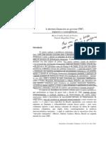 A Abertura Financeira No Governo FHC_impactos e Consequencias