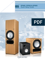 Axiom Audio EP400/EP500/EP600 Owner's Manual