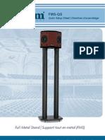 Axiom Audio FMS-QS Owner's Manual