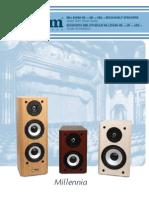 Axiom Audio Millenia M2v2/MPv2/M22v2 Owner's Manual