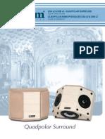 Axiom Audio QS4/QS8 Quadpolar Surround Owner's Manual