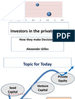7 Investors in the Private Sector - Alexander Gilles