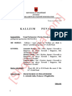 Kallëzim Penal për rastin e konfliktimit të deputetëve