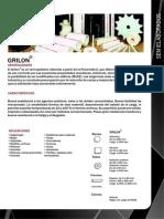 Ficha Tecnica Del GRILON (Por NTH)