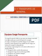 1- Introduccion Al Acarreo y Transporte de Mineral