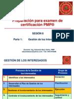 Preparacion Para PMP, Sesion 10, Gestion de Los Interesados
