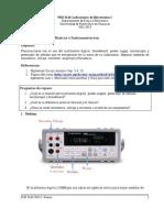 Practica Con Multimetro Hp 34401a