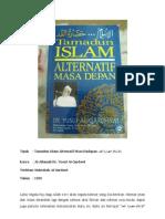 (Rumusan) Al-Islam Hadharatul Qad'_Al-Allamah Dr. Yusuf Al-Qardawi