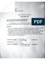 Deciziile Consiliului Orasenesc Ialoveni 04.04.2014