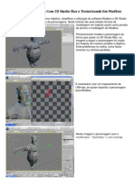Modelando No 3d Studio Max e Texturizando No Mudbox