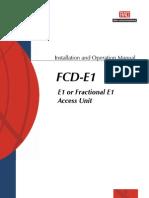 Manual Fcd-e1 Mn