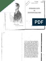 Fatone Vicente - Introducción Al Existencialismo