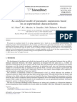 An Analytical Model of Pneumatic Suspensions