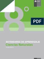 Estándares de Aprendizaje Ciencias Naturales 8º Básico - Decreto 129_2013