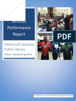 Document #8.2 - Library Services Performance Report - FY2014 Q2