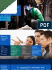 Sharing Microsoft Services KM Initiative at APQC April 10th 2014