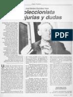 Jose Santos Vera, Coleccionista de Injurias y Dudas