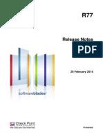 CP R77 ReleaseNotes