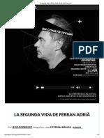 """La segunda vida de Ferra...rià con EL PAÍS Semanal"""""""