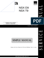 AIWA NSX-F595 Service Manual